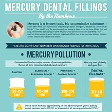 Mercury Dental Fillings by the Numbers Infographic