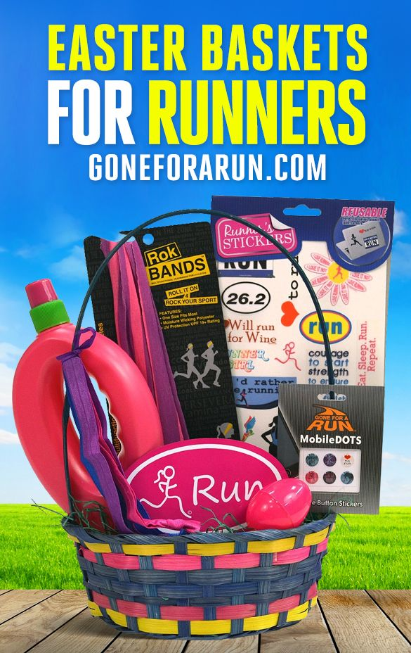 8 best running themed gift baskets images on pinterest themed send your favorite runner an easter treat with our easter basket filled with hand picked negle Choice Image