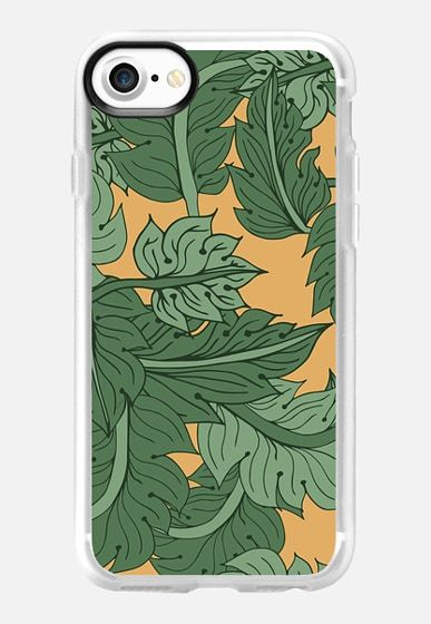 Foliage by Patricia Sodré for Casetify #iphonecase #tropical #pattern #patriciasodre