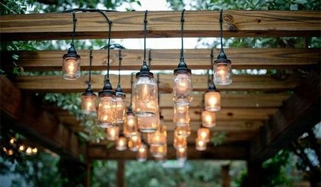 Battery Chandelier Pergola Lighting | String Light Pergola Lighting Solutions