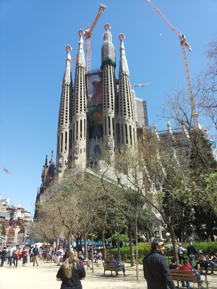 #Barcelona #SagradaFamilia
