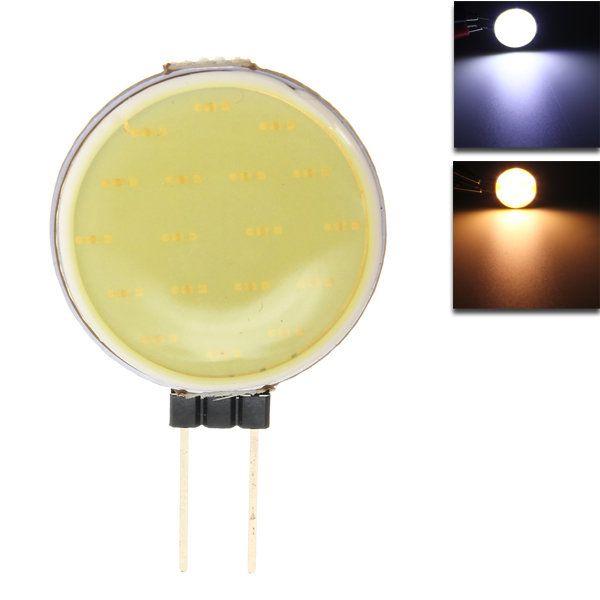 G4 2.5W 18COB LED Warm White/White for Crystal Lamp LED Spotlight Light Bulb Lamp DC 12V