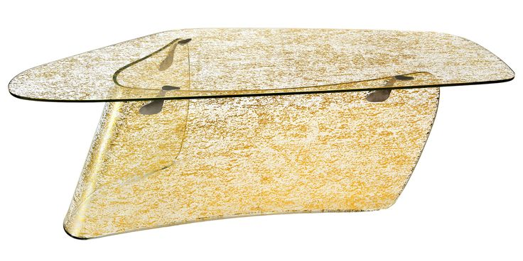 Xavier Lust Gold Graph desk, xavierlust.com.   - HarpersBAZAAR.com