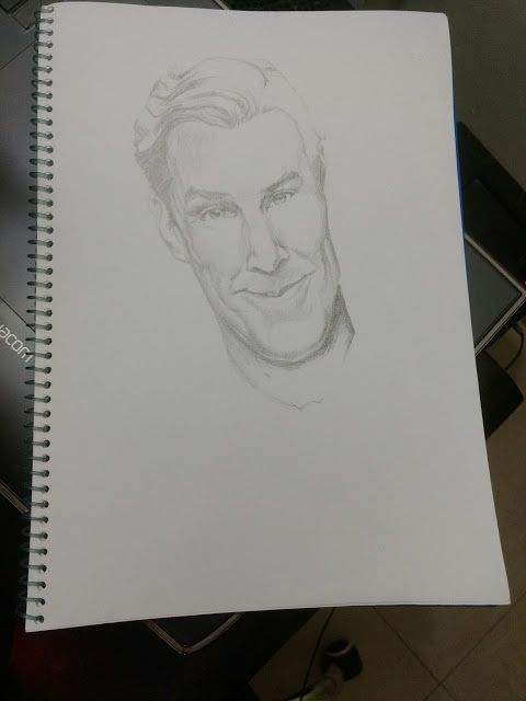 Sketch a day #14.1   Incomplete ....  2d pencil pencil shading sketch
