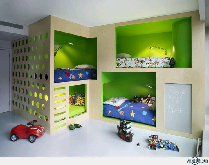 Bunk bed   Boy RoomsKid  57 best Bunk beds images on Pinterest   Nursery  Children and  . Childrens Bedroom Interior Design Ideas. Home Design Ideas