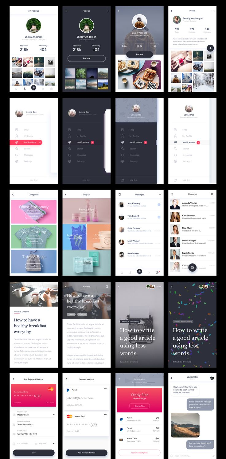 Lynx is a mobile app UI kit created using Sketch app, to help you kick start your next mobile app design project. With the help of Lynx UI Kit, you could easily create instant and high fidelity prototypes, make your app idea come to life by implementing the designs right away! It has excellent free fonts and wonderful colors. Designs are modern and minimal, Lynx is crafted with user experience in mind.