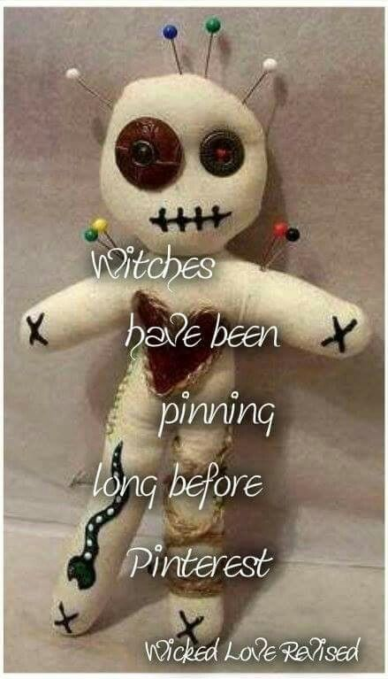 Magick Wicca Witch Witchcraft:  #Witches have been pinning long before Pinterest.
