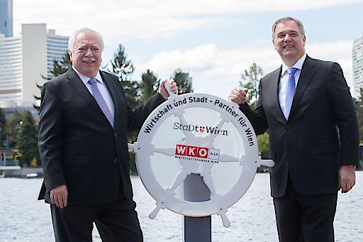 """""""Anrudern"""": Ruck und Häupl eröffnen Saison an der Alten Donau"""