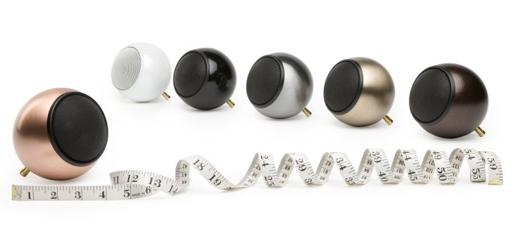 Six designer, decor friendly c0lors make Orb Audio speakers the best option for room friendly sound.