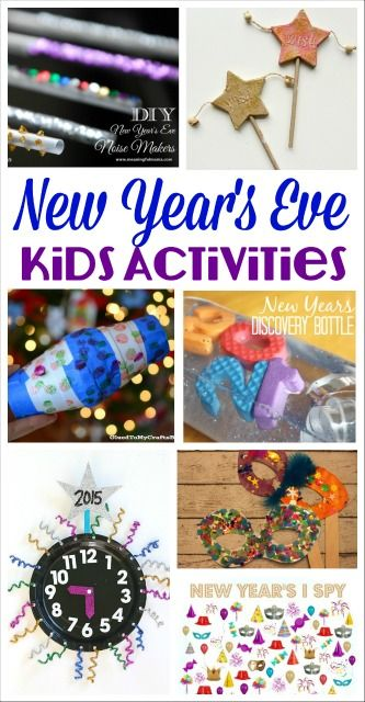 I can't wait to try these New Year's Eve Activities with my kids. So many fun ways to ring in the new year!