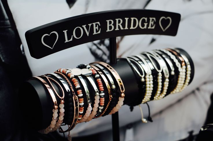 The custom of attaching a personalised love lock to the most famous bridges in the world is the inspiration for the new #LoveBridge range of bracelets. #mylovebridge