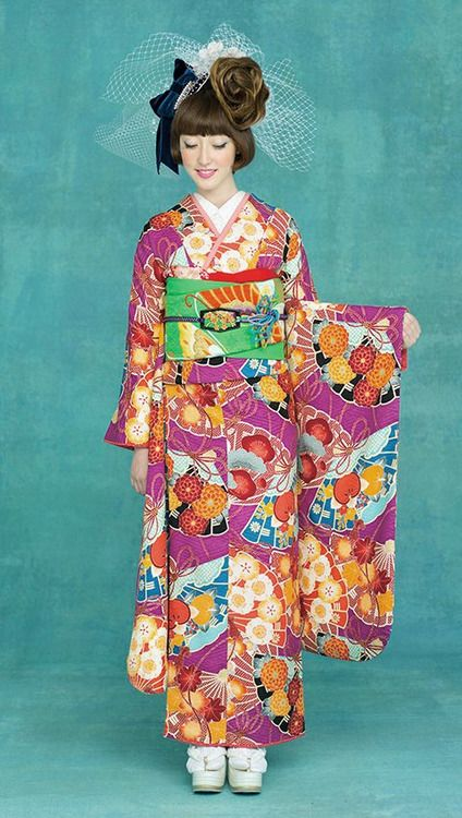 Contemporary furisode Japan