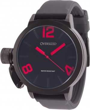 Relógio Masculino Esportivo Oversized Alpha 49mm Dark-Red                                                                                                                                                                                 Mais