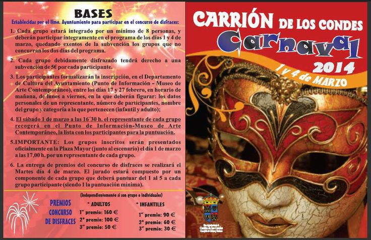 Carnavales en Carrión de los Condes 2014 Palencia