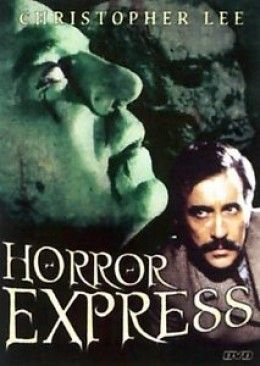 """Horror Express"" can be found wherever cheap DVDs are sold."