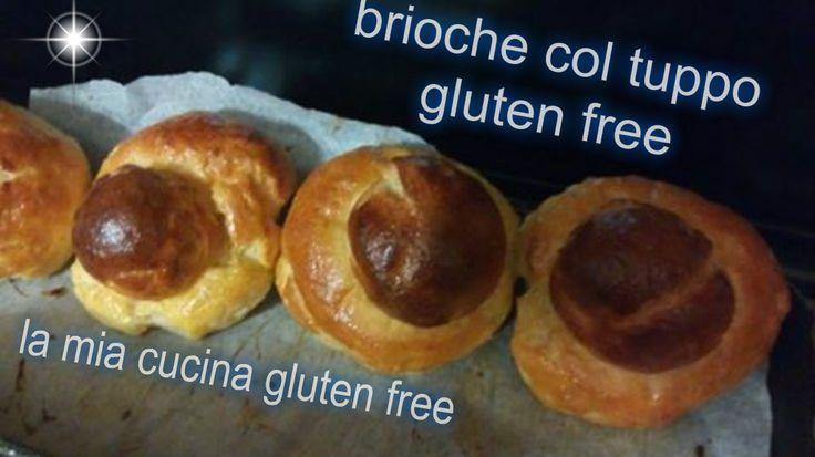 Brioche col tuppo gluten free