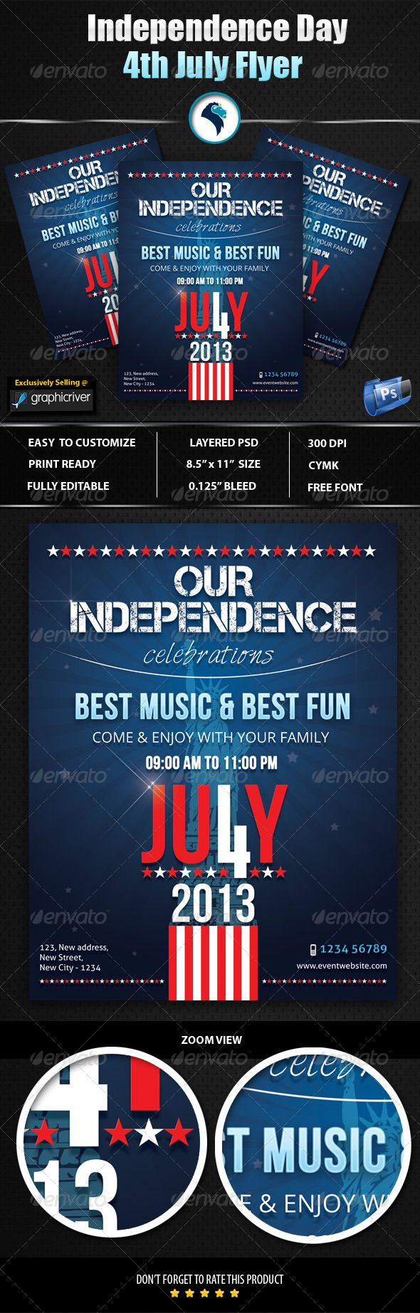 best images about flyer ideas templates events independence day 4th flyer holidays events 6