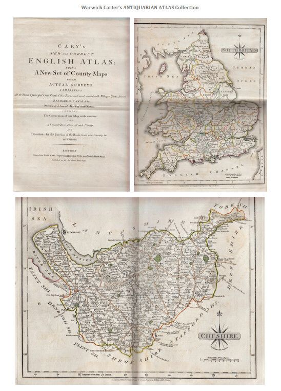Cary's New and Correct English Atlas 1793