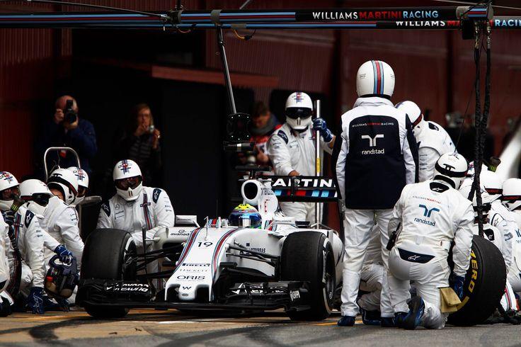 F1 Williams Martini 2015 Team Work !