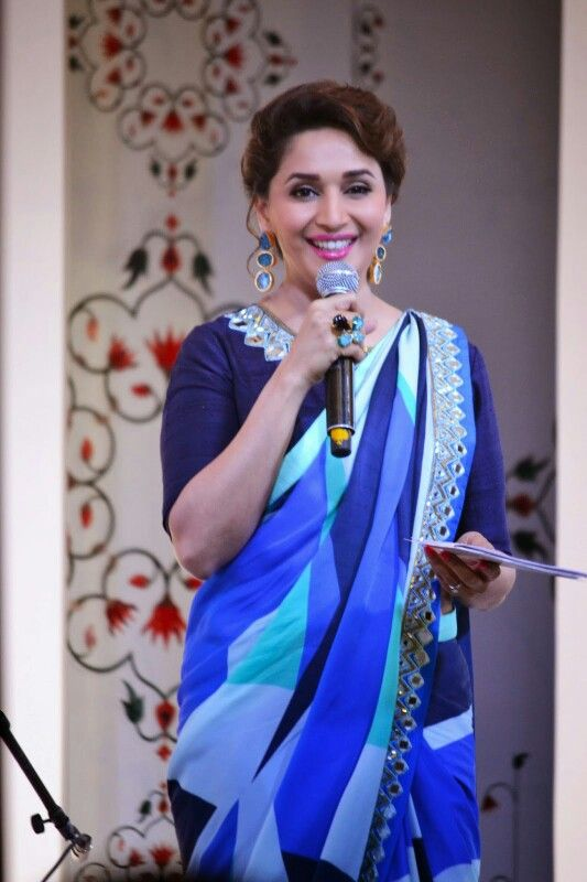 #MadhuriDixit at Taj Mahal event