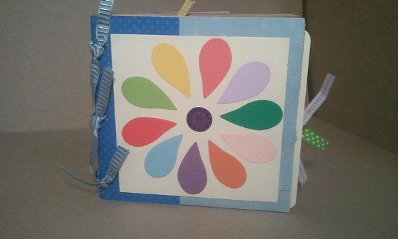 """Daisy Girl Scout """"BrownBag"""" Brag Book for scrapbooking!"""