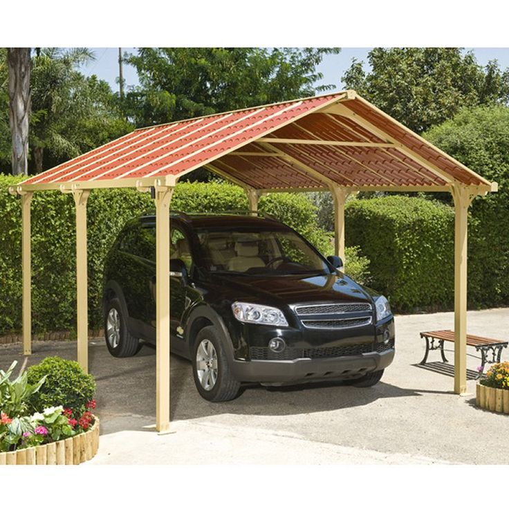 Best 76 Carport/garage Images On Pinterest