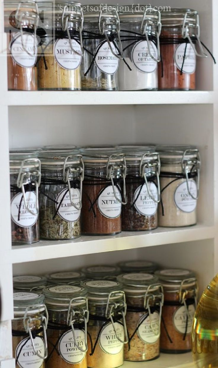 10 Good DIY Spice Storage Ideas GleamItUp