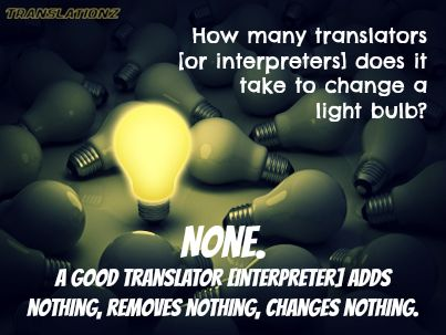 For non-English speaking clients, you need a professional translator and interpreter...not a family member.