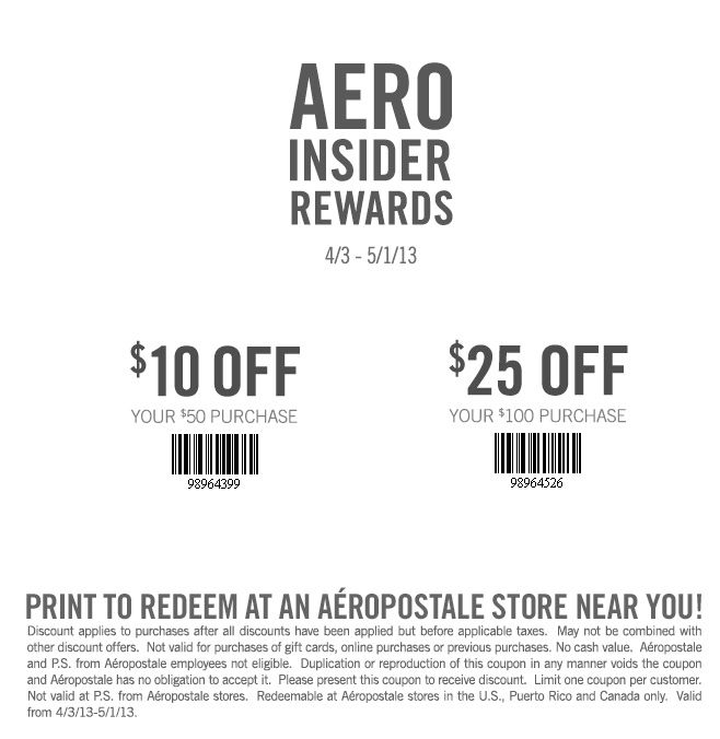 20 off aeropostale coupon codes amp printable coupons 2019 - 630×630