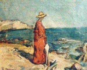 Gheorghe Petrascu - Pe malul mării