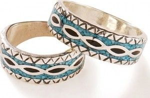 Native American wedding rings are growing in popularity as symbols of love, faith, and honor for some traditional and non-traditional weddin... http://nativeamericanencyclopedia.com/the-native-american-wedding-rings/