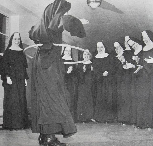 Nuns are women who give up their entire lives for our Lord, meaning that they are awesome!