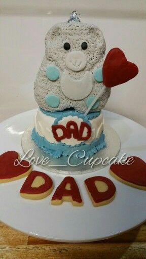 Father's Day Cake and Cookies 2015