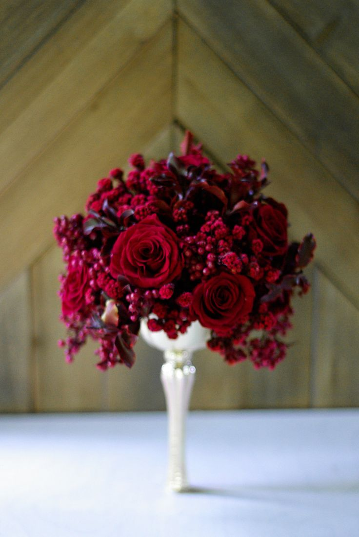 42 best Red, Burgundy, Marsala images on Pinterest   Bridal bouquets ...