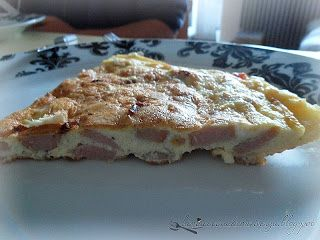 Fritatta ai wurstel - Wurstel Pie