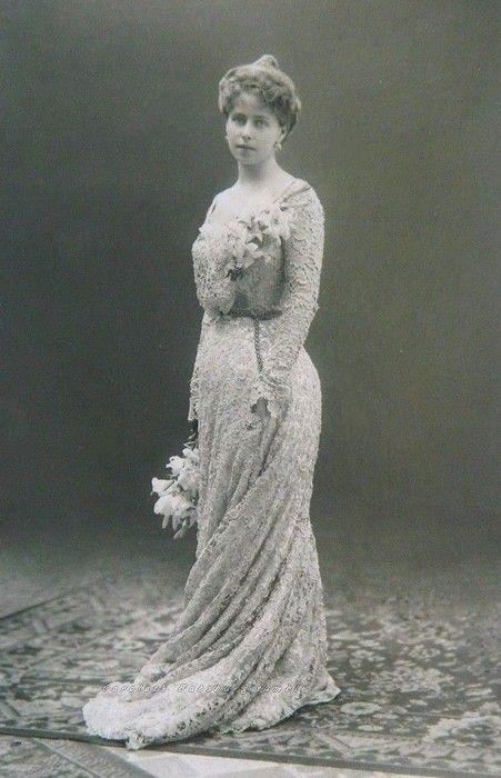Crownprincess Marie of Romania. Early 1900s.