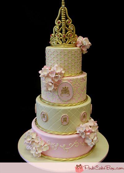 Lil Princess St Birthday Cakes