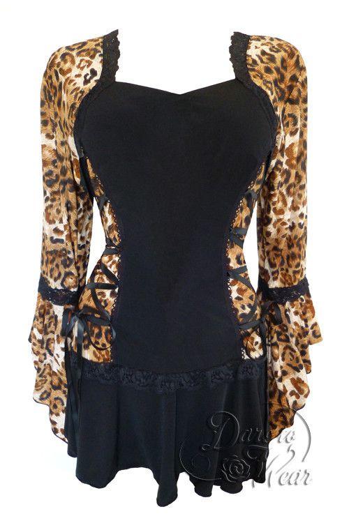 Leopard Print Bolero February 2017
