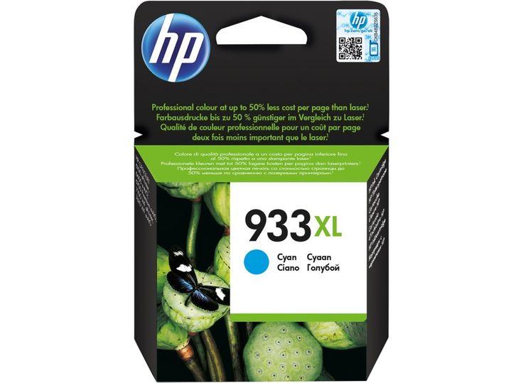 Tinta Printer HP 933XL Cyan Ink Cartridge Original atau Asli dengan harga termurah Rp 176.000,- dan bergaransi Resmi serta bisa dibeli secara eceran dan grosir