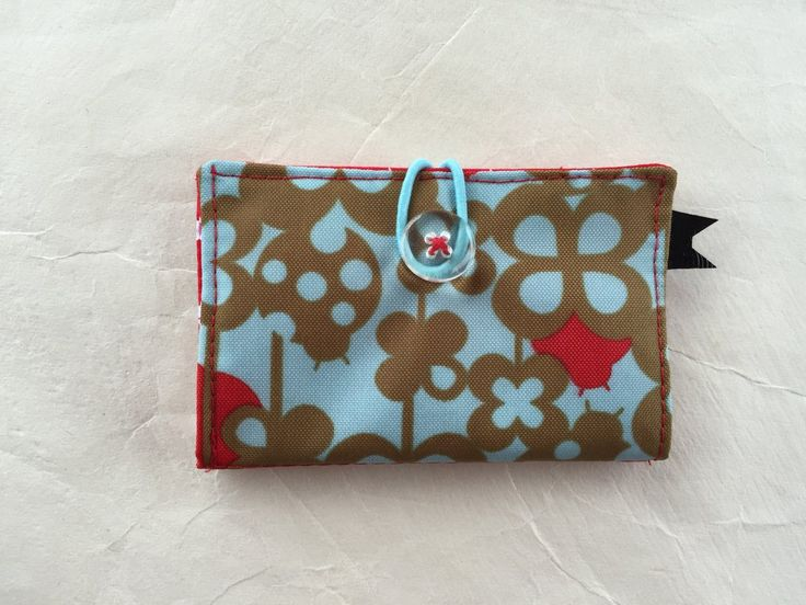 Credit Card Wallet by kuronekoetsy on Etsy