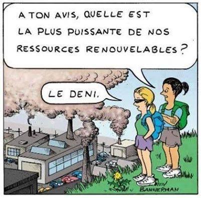 Le déni ressource renouvelable