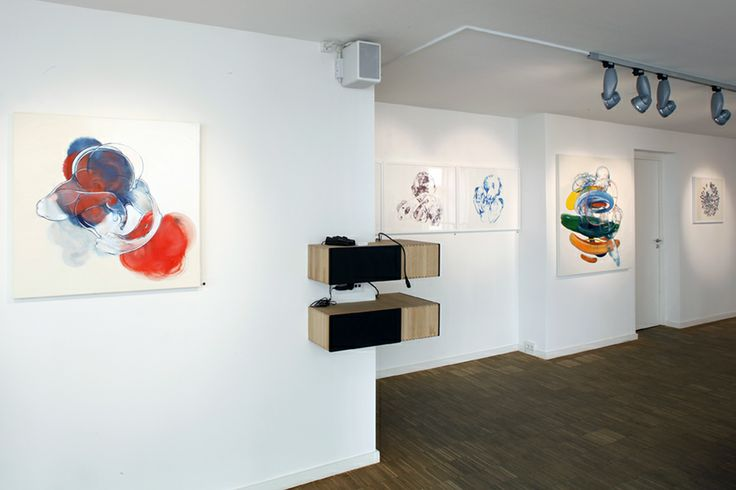 """Peter Max-Jakobsen """"KNUS 7"""", lithographies and """"IN THE AIR""""."""