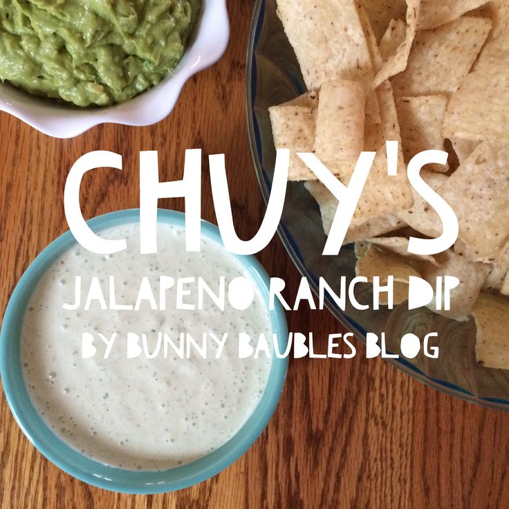 Chuy's Jalapeno Ranch Dip by Bunny Baubles Blog