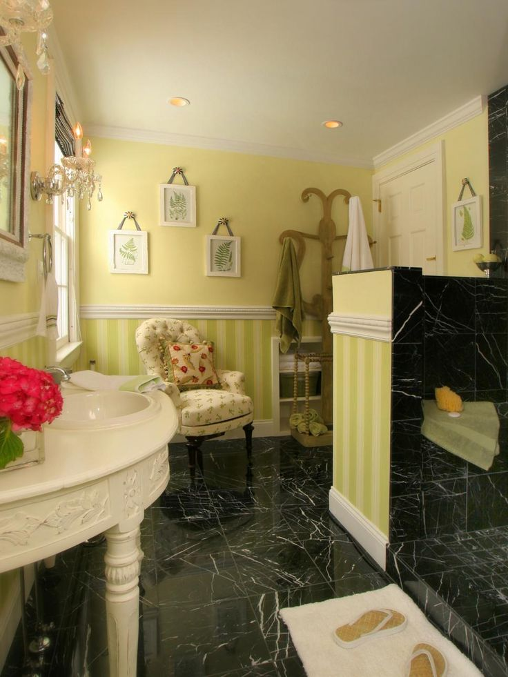 A bathroom is the perfect place to experiment with color, so we've chosen twenty incredibly colorful bathrooms from HGTV fans that are sure to inspire.
