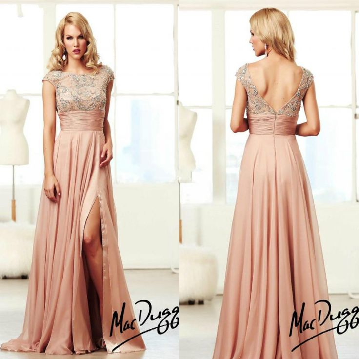 72 best prom 2014 images on pinterest dress skirt night for Dusky pink wedding dress