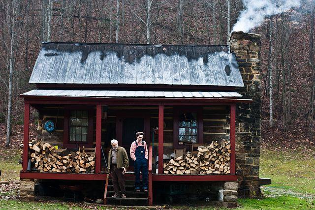 """""""Dream Cabin."""" Hinton, West Virginia."""