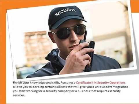 Clicke here - http://goo.gl/Qffc0E Pursuing a Certificate II in Security…