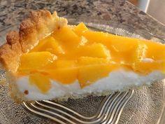 Aprenda a preparar a receita de Torta gelada de pêssego da Bianca