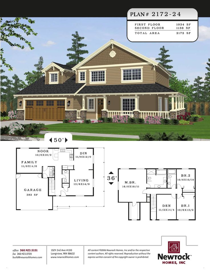Newrock Homes Plan 2172 24 For The Home Pinterest