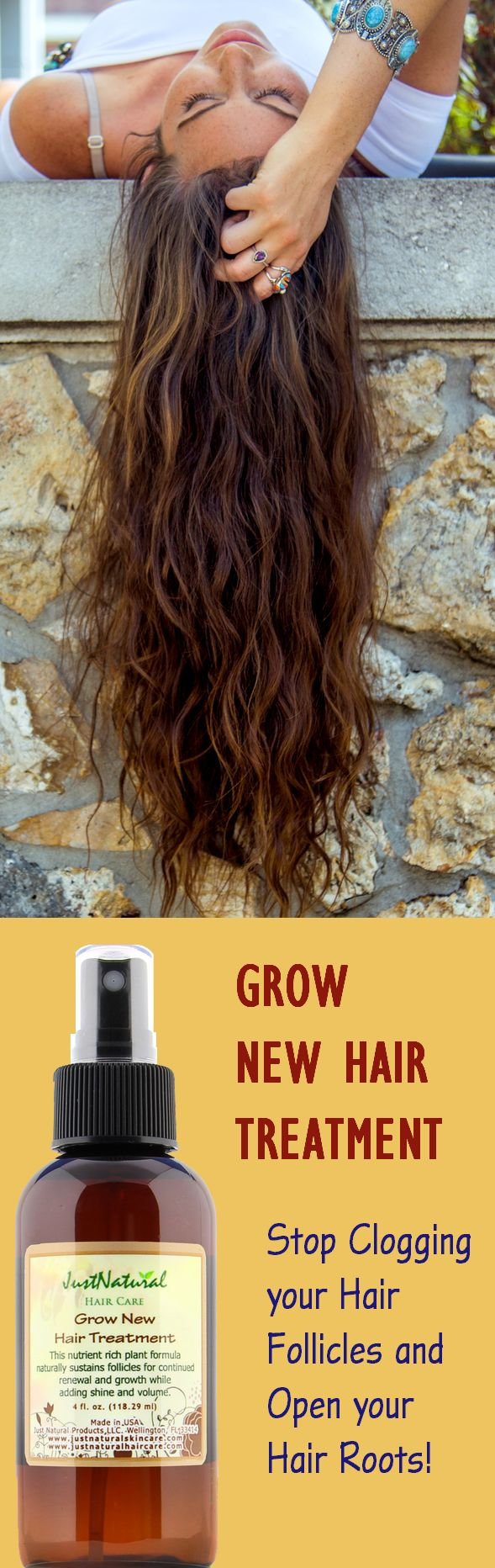 Stop Clogging your Hair Follicles and Open your Hair Roots